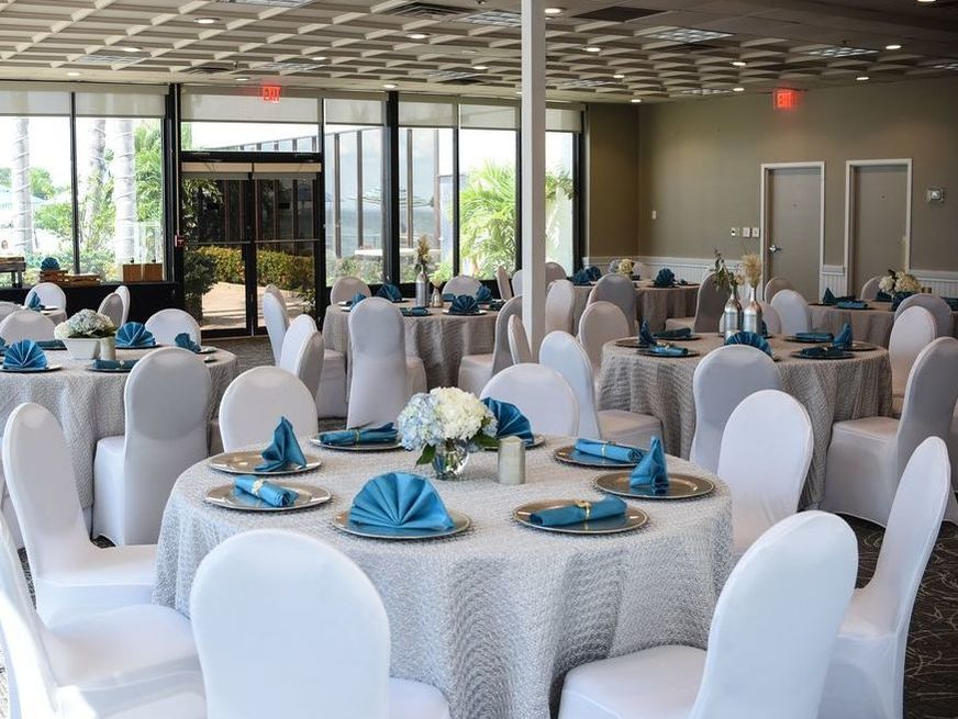 Wedding Reception with Tampa Bay Views at The Godfrey